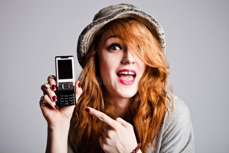 пункт мобильного телефона стоковая фотография