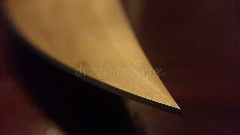 Пункт ножа стоковые фото
