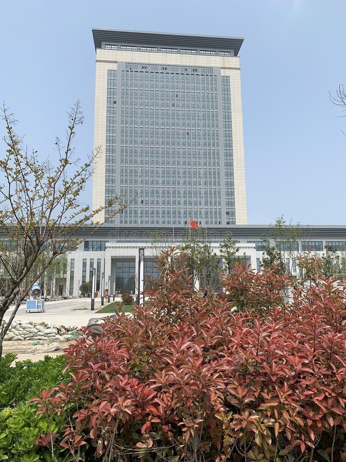 Пункт обслуживания Китая Wu yang Вэй минимальный стоковая фотография