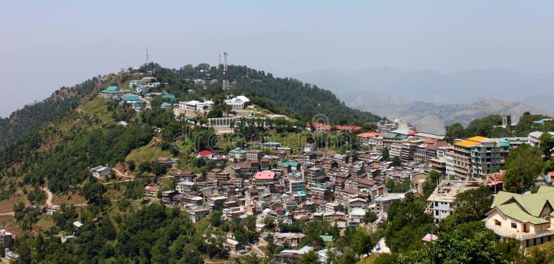 пункт Пакистана murree Кашмира города стоковые фото