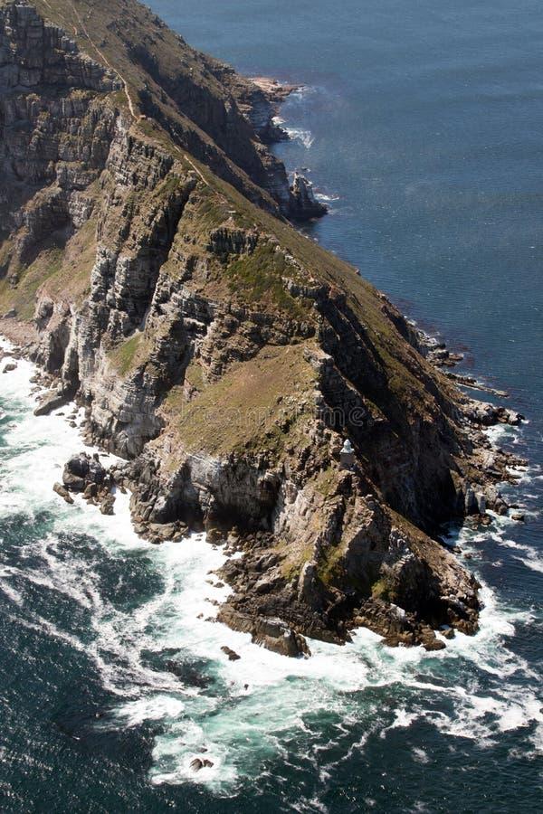 пункт плащи-накидк Африки южный стоковое изображение