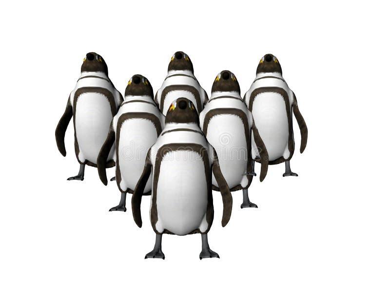 пункт 2 пингвинов бесплатная иллюстрация
