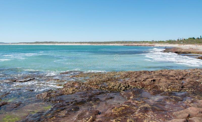 Пункт Jake: Kalbarri, западная Австралия стоковое изображение