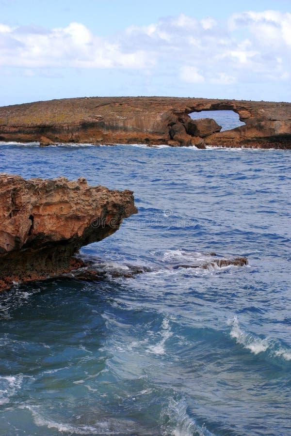 пункт laie Гавайских островов стоковые фото