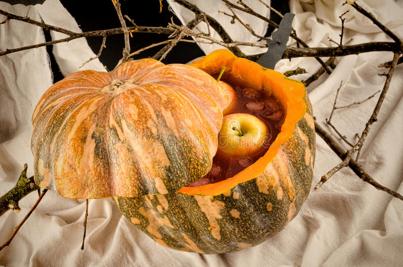 Пунш хеллоуина стоковые изображения