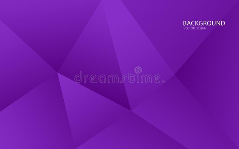 Пурпурная абстрактная иллюстрация вектора предпосылки стена e крышка o E r летчик брошюра ( бесплатная иллюстрация