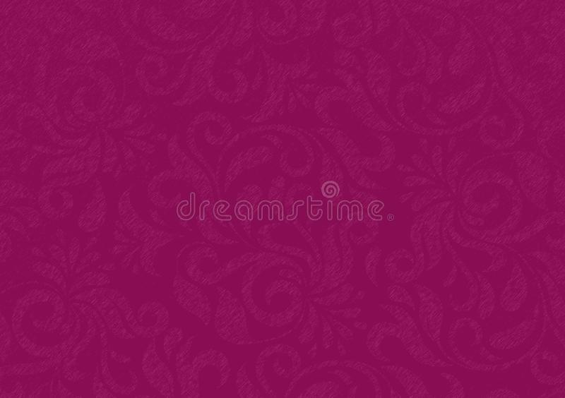 Пурпурные обои дизайна цветочного узора стоковое фото
