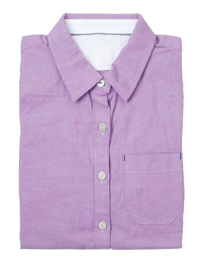 пурпуровая рубашка стоковые изображения