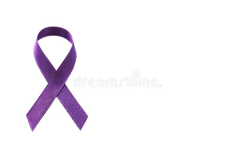 пурпуровая тесемка стоковое фото rf