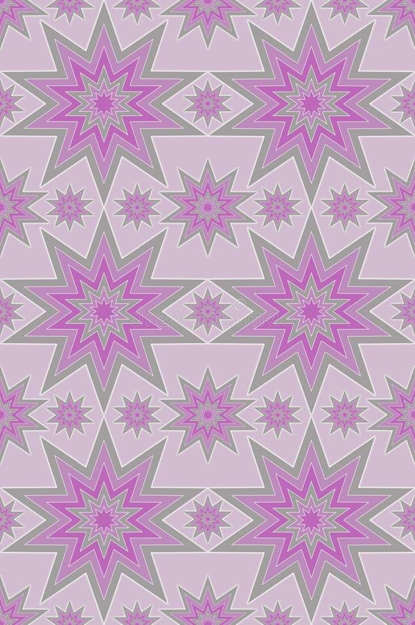 пурпуровые безшовные серебряные звезды бесплатная иллюстрация