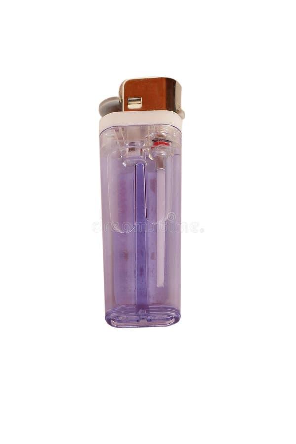Пурпуровый лихтер стоковое изображение