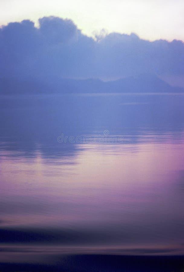 Пурпуровый остров II стоковые изображения rf
