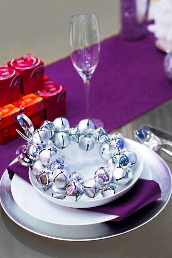 пурпуровый tabletop стоковое изображение rf