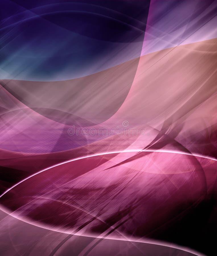 пурпур абстрактной предпосылки футуристический иллюстрация штока