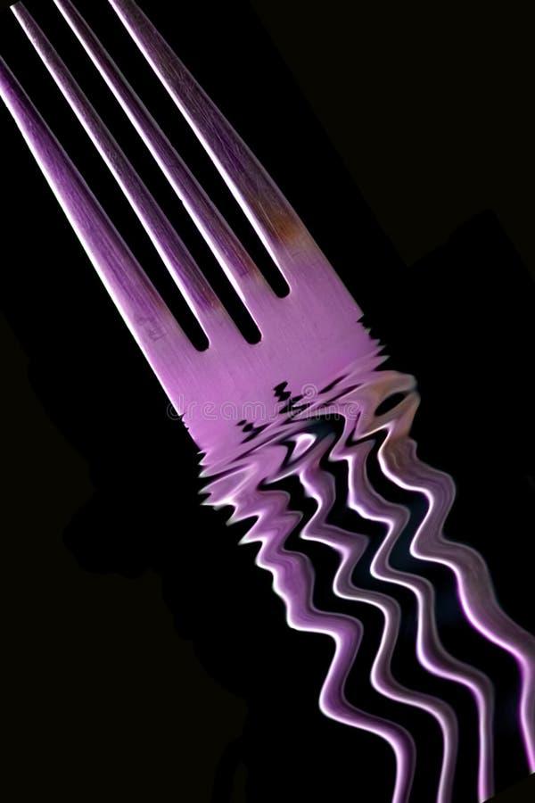 пурпур вилки Стоковое Фото
