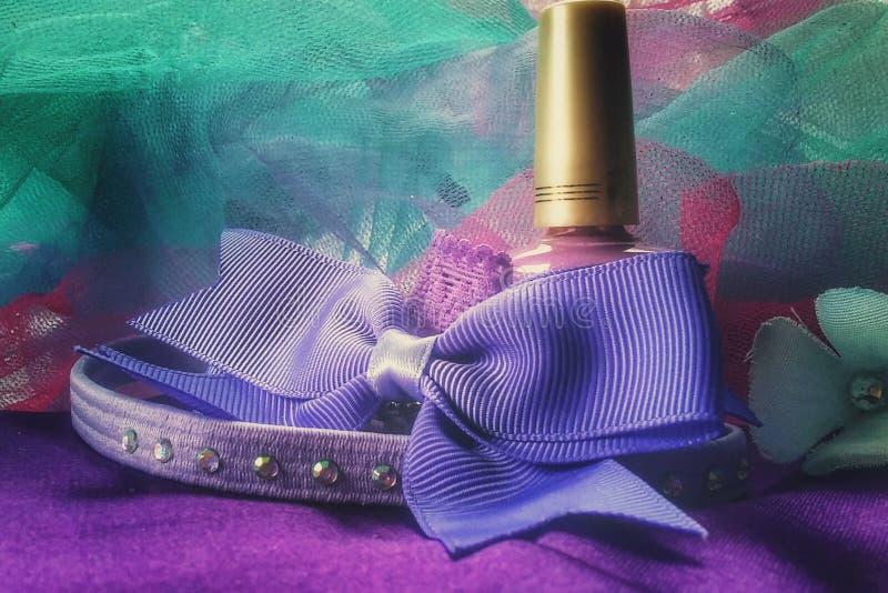 Пурпур детства стоковое изображение