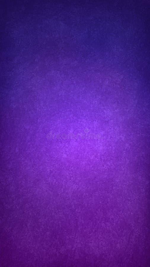 Пурпур и голубые текстурированные обои предпосылки, план предпосылки app иллюстрация штока