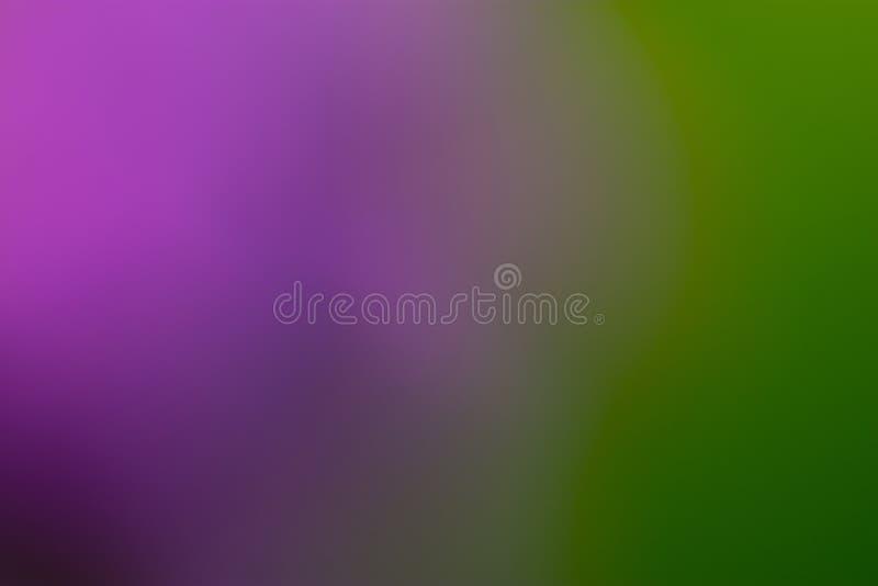 Пурпур и зеленые ровные и запачканные обои/предпосылка стоковое изображение
