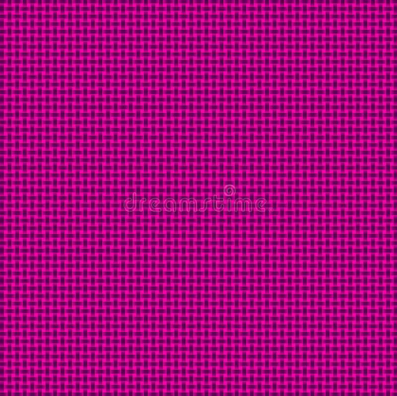 Пурпур и розовая сплетенная предпосылка Basketweave иллюстрация штока