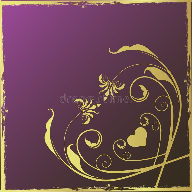 пурпур конструкции предпосылки стоковая фотография