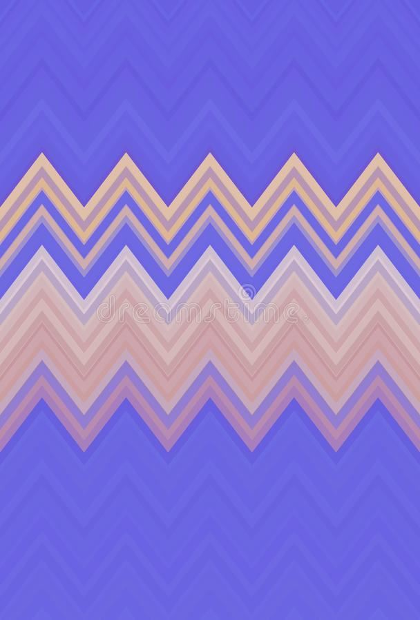 Пурпур предпосылки картины зигзага Шеврона абстрактные тенденции иллюстрация штока