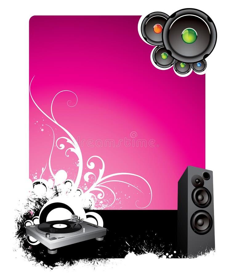 пурпур предпосылки музыкальный бесплатная иллюстрация