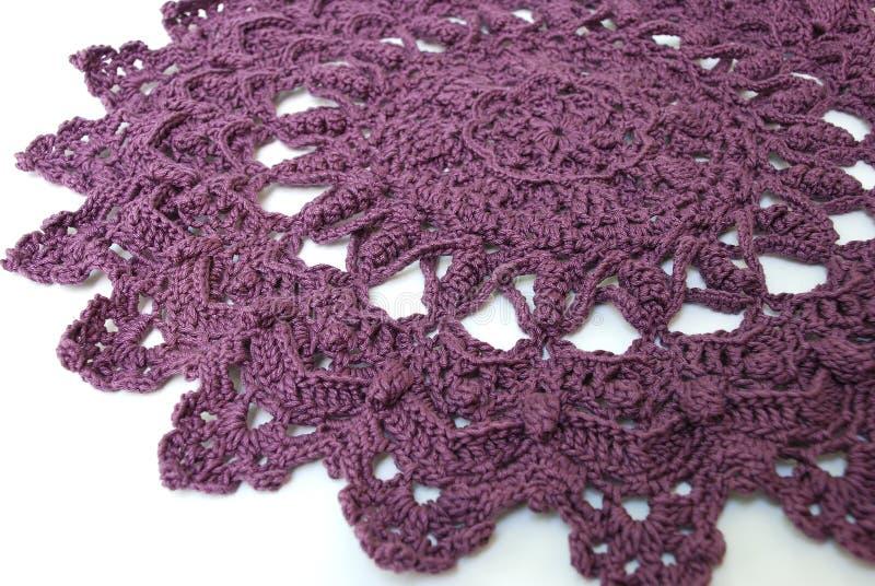 пурпур doily стоковая фотография