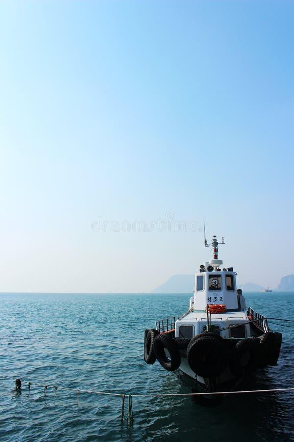 Пусан, острова Oryukdo стоковые изображения