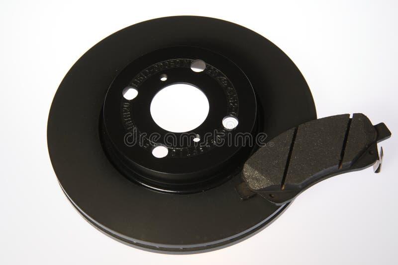 Пусковая площадка и диск тормоза стоковое фото rf