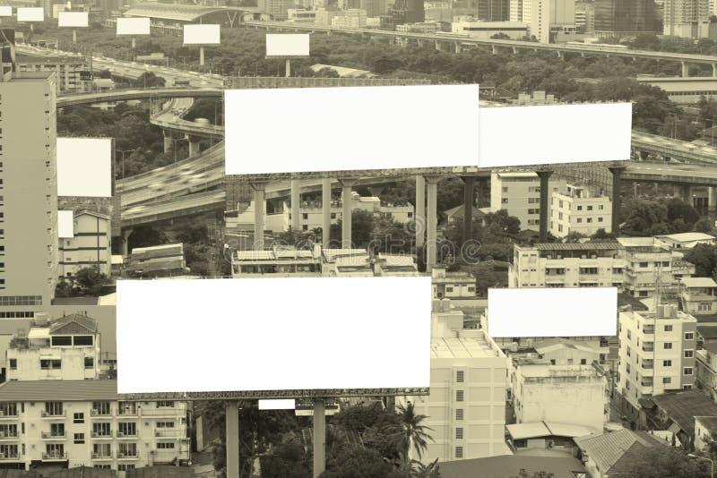 Пустая афиша для предпосылки концепции рекламы стоковая фотография rf