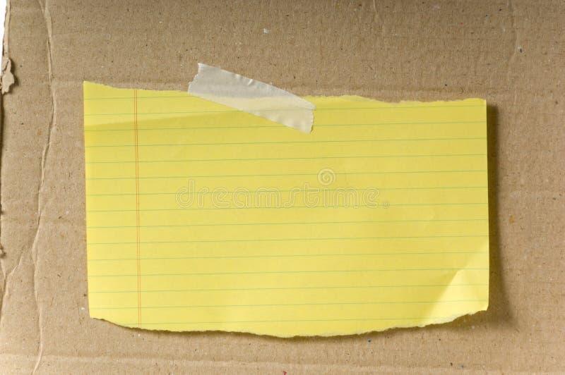 пустая бумага стоковая фотография