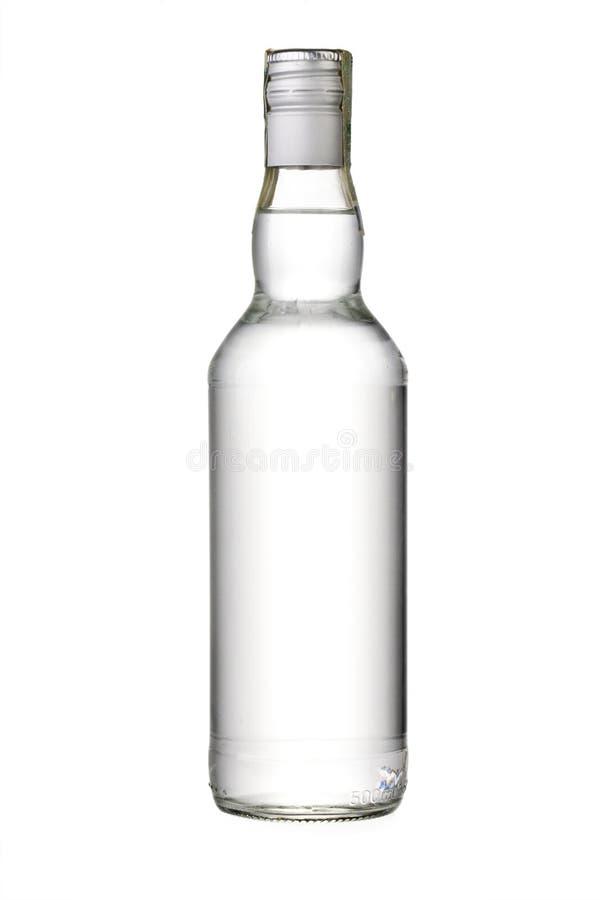 Download Пустая бутылка водочки стоковое изображение. изображение насчитывающей напитка - 37928009