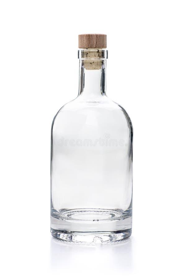 Пустая бутылка ликера стоковые фото