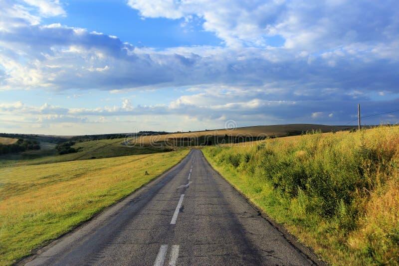 пустая дорога стоковая фотография