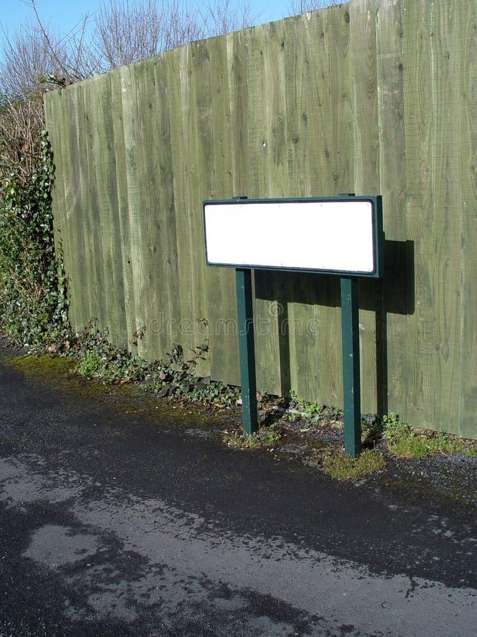 пустая зеленая улица знака стоковые фото