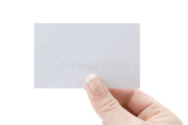 Download пустая карточка стоковое изображение. изображение насчитывающей уговариваний - 18388187
