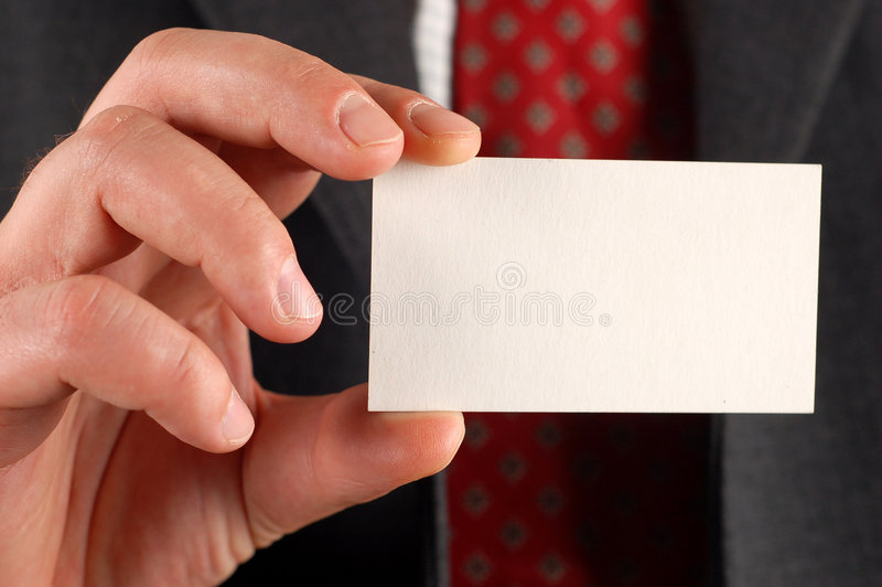 пустая карточка 4 стоковое фото