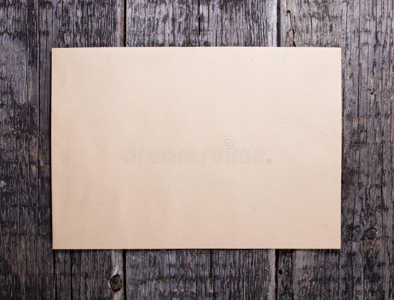 пустая карточка стоковое фото
