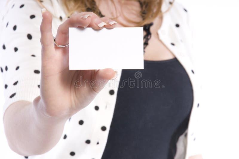 пустая карточка стоковые изображения rf