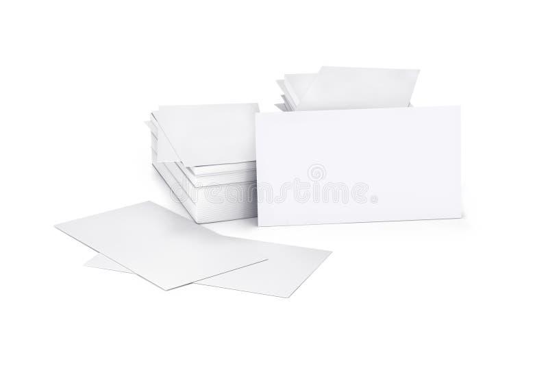 Пустая карточка, cutaway, стоковое изображение