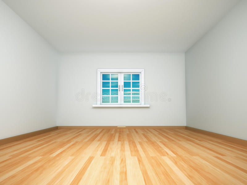 пустая комната иллюстрация вектора