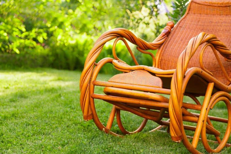 Пустая кресло-качалка Стоковое Фото