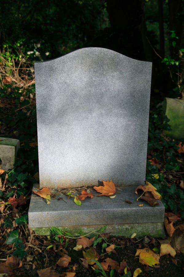 пустая надгробная плита стоковые изображения rf