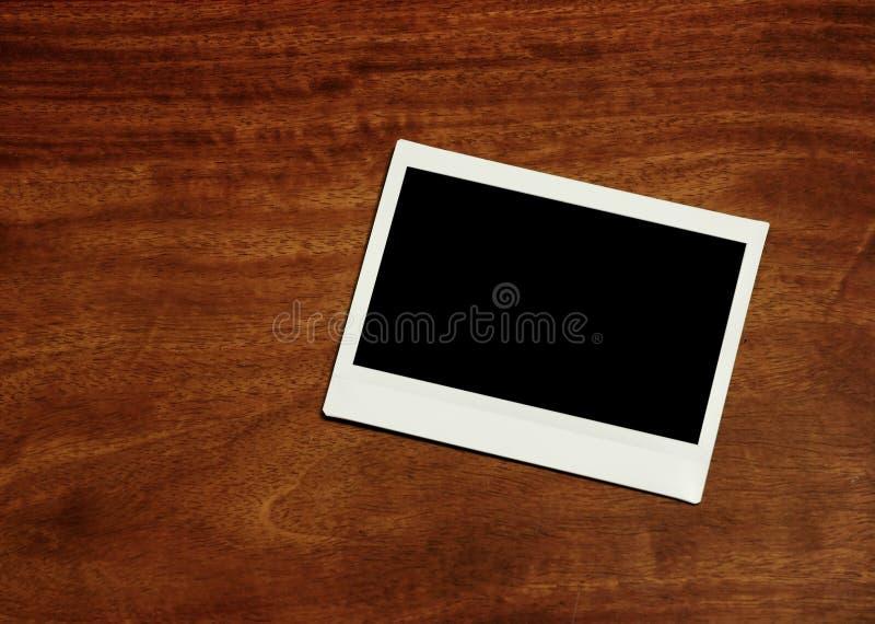 Пустая немедленная рамка фото стоковая фотография