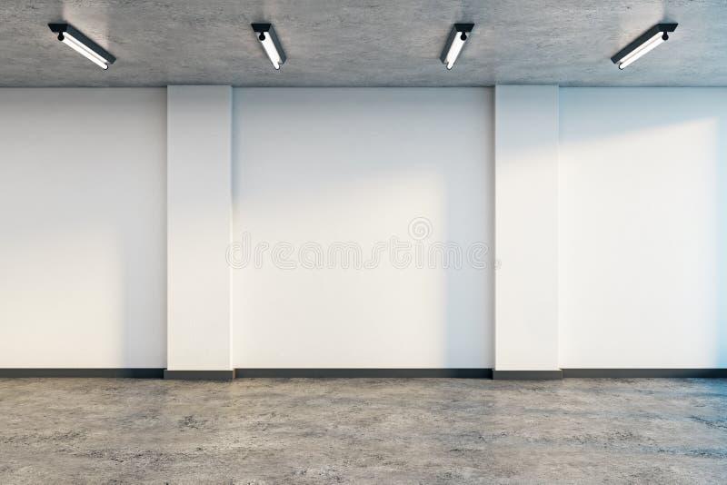 пустая нутряная стена иллюстрация штока