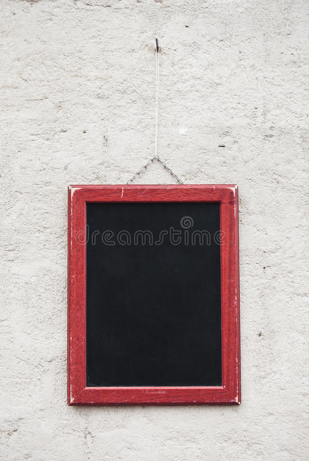 Пустая доска школы стоковая фотография