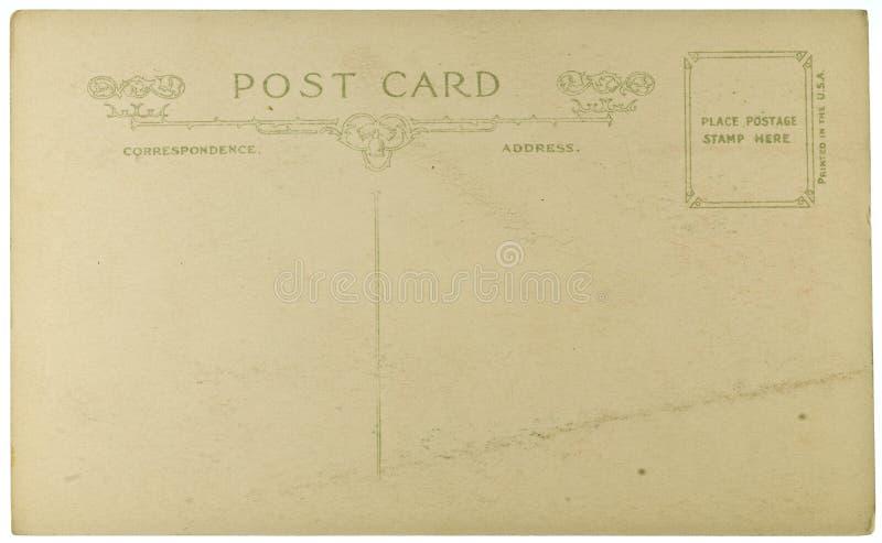 Пустая открытка сбора винограда стоковая фотография