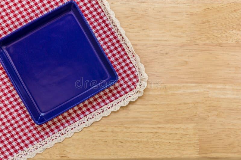 Пустая плита/пустая предпосылка плиты стоковое изображение