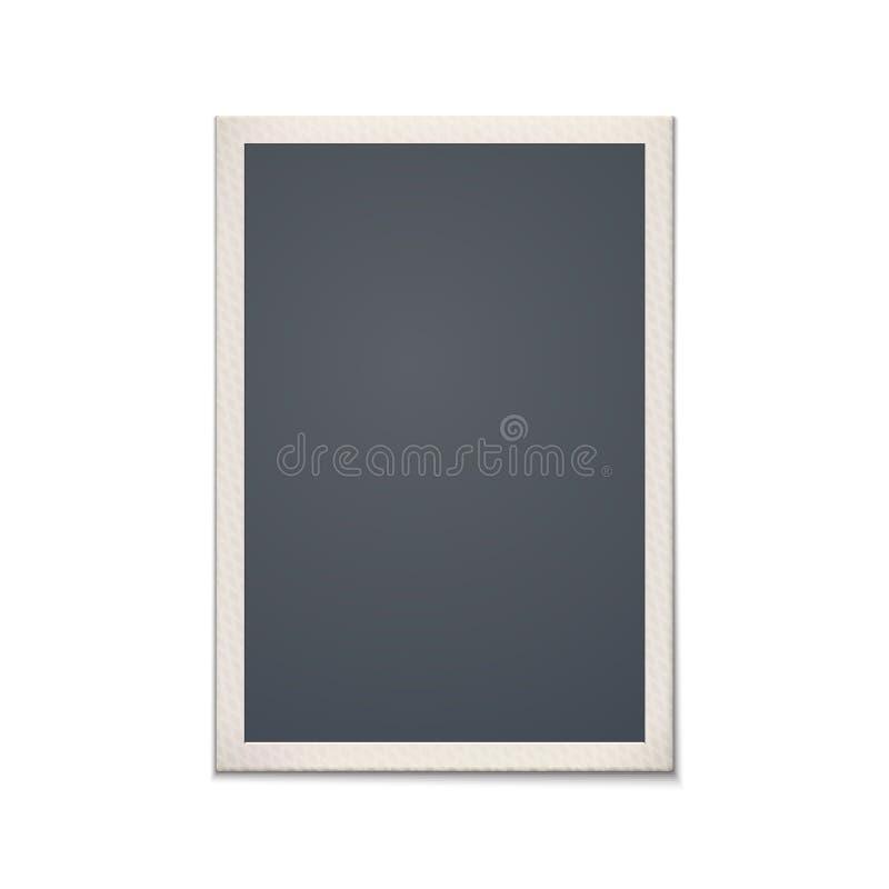 Пустая ретро рамка фото иллюстрация штока