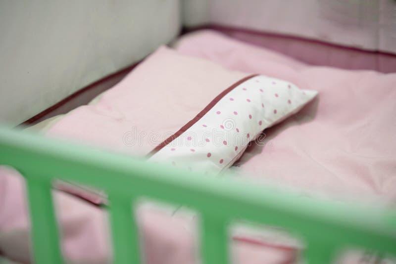 Пустая розовая шпаргалка младенца тона стоковые изображения rf